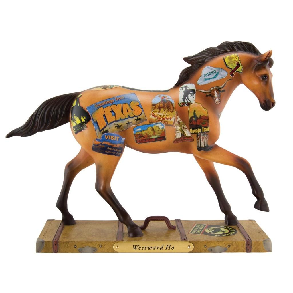 Trail of Painted Ponies Westward Ho Figurine