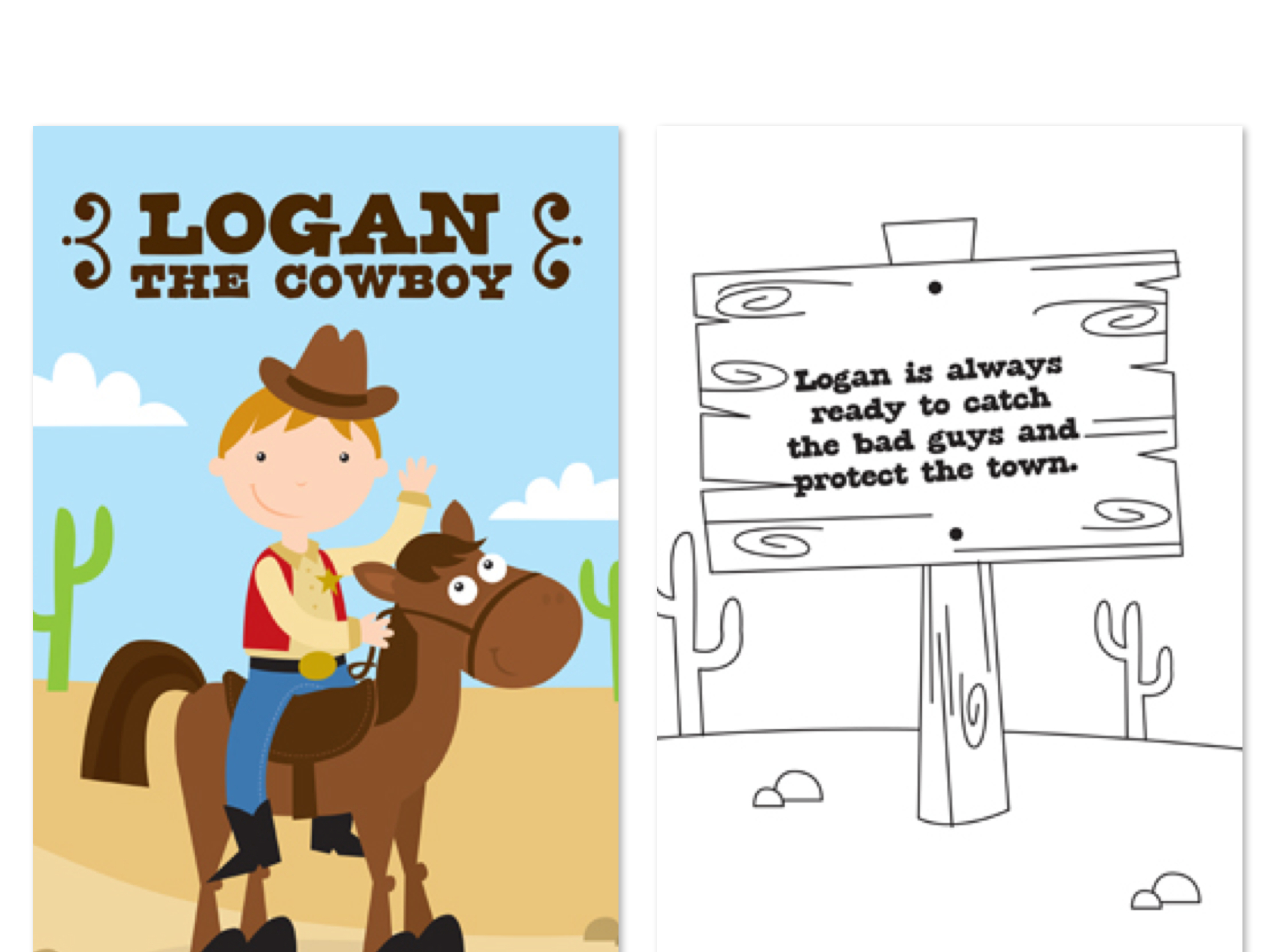 Personalized Children's Horse Gifts