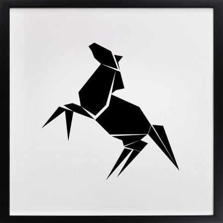 Origami Horse Wall Art