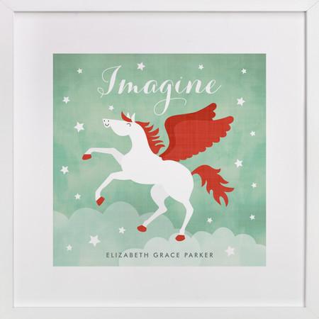 Pegasus Custom Horse Art Print