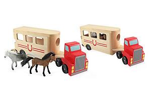 Melissa & Doug Horse Carrier | Toys