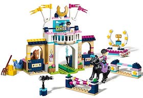 LEGO Friends Horse Jumping Building Kit _ sb