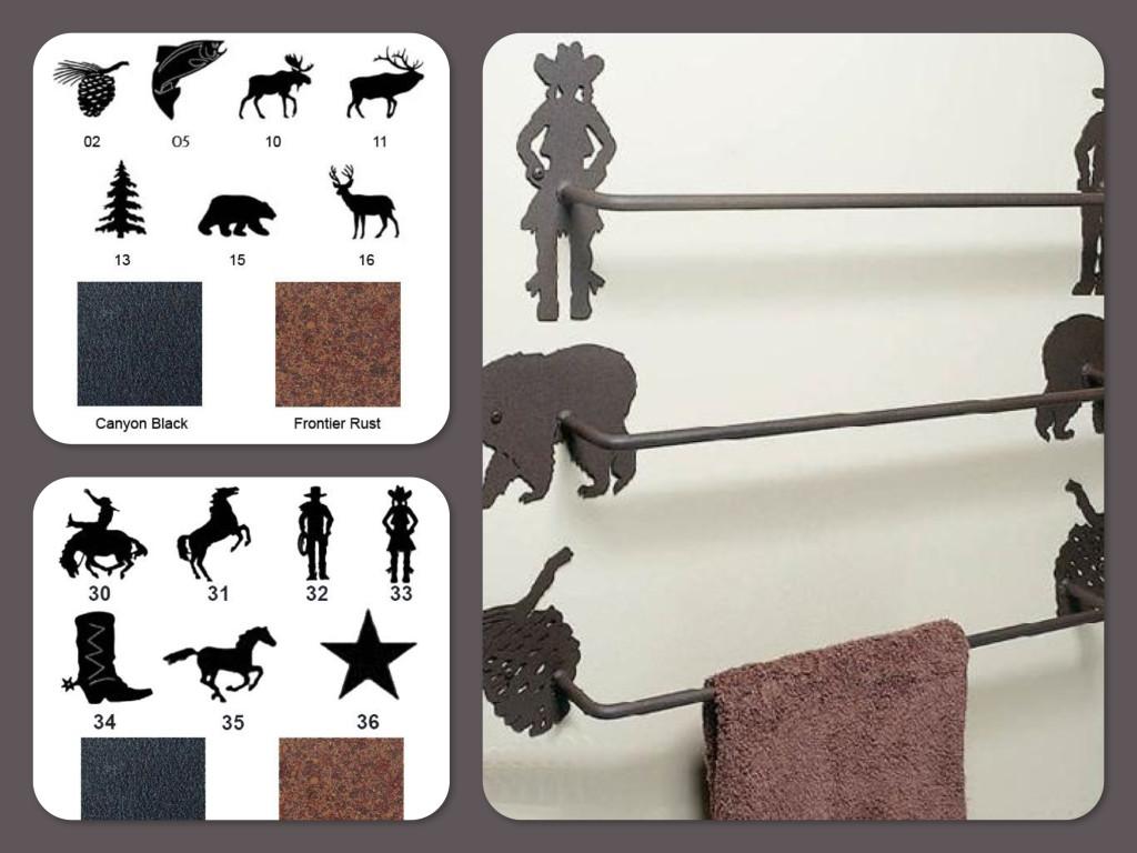 Custom Horse Towel Bars