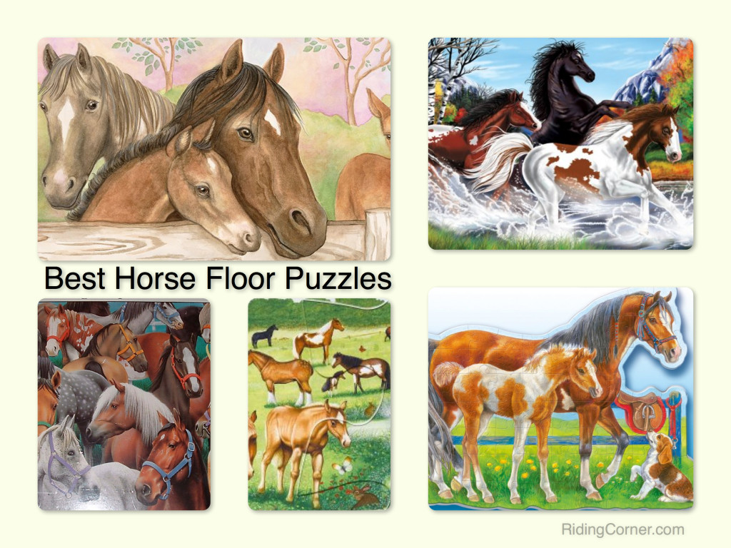 Best Horse Puzzles | Gifts for the Young Equestrian | RidingCorner.com