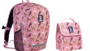 Horse Theme backpack & lunchbox
