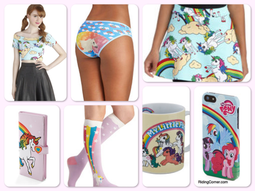 Horse Theme Vintage Style Clothes, Vintage Style Pony & Unicorn Clothes and Accessories