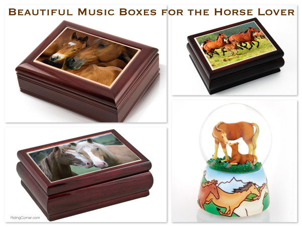 Beautiful Horse Music Boxes for the Horse Lover