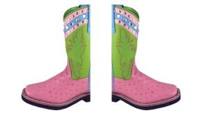 Girls Colorful Riding Boots
