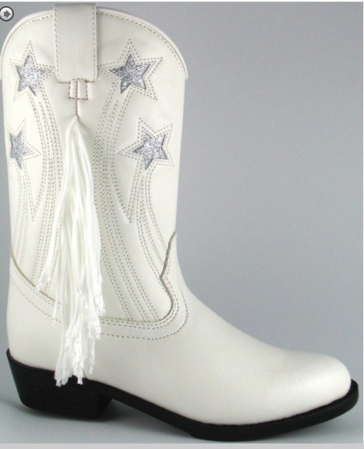 Smoky Mountain Youth:Teen Texas Star Boots, Colorful Riding Boots