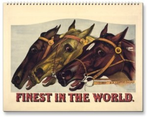 2015 Finest of the World Calendar, Horse Calendars