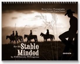 2015 Horse Lover Western Calendar, Horse Calendars