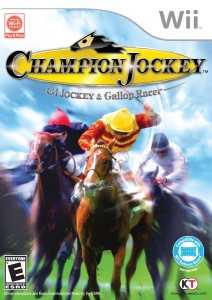 Champion Jockey- G1 Jockey and Gallop Racer - Nintendo Wii