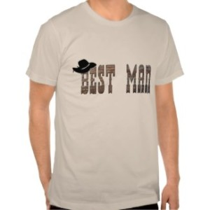 Cowboy Best Man Shirt