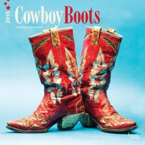 Cowboy Boots 2015 Calendar, Horse Calendars