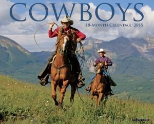 Cowboys 2015 Wall Calendar, Horse Calendars