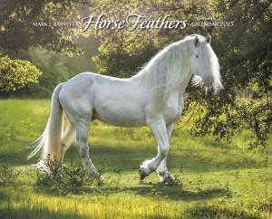 Horse Feathers 2015 Wall Calendar, Horse Calendars