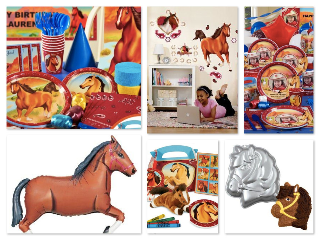 Horse Power Party Supplies