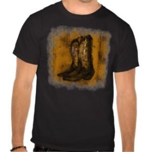 KRW Western Wear Cowboy Boots Tshirts