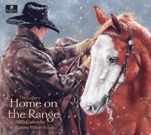 2015 Wall Calendar, Home on the Range Horse Calendars