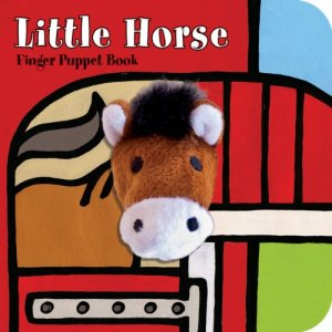 Little Horse- Finger Puppet Book