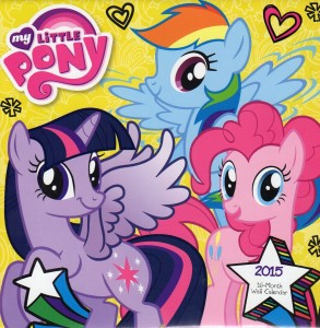 My Little Pony - 2015 16 Month Calendar, Horse Calendars