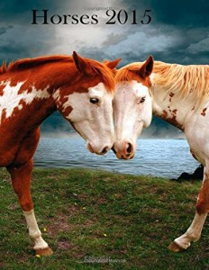 Paperback Horses 2015 Calendar, Horse Calendars