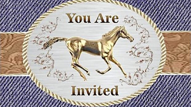 Pony & Horse Party Invitations