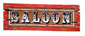 Saloon Sign