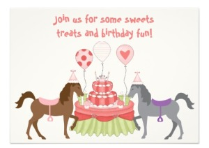 pony  horse party invitations and stamps  baby shower, Party invitations