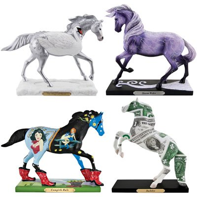 Trail of Painted Ponies Fall 2011 Figurines Set