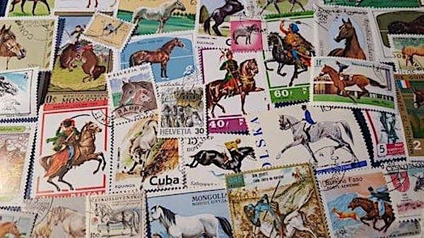 Vintage Horse Stamps