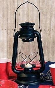 Western Lantern Centerpiece