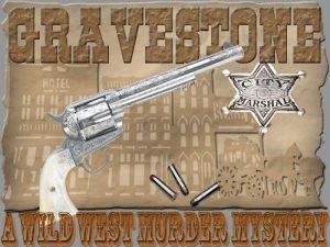 Wild West Murder Mystery Party - Gravestone