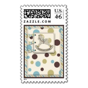 rocking horse stamp postage