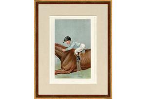 British Jockey Print, Equestrian Chic Sale
