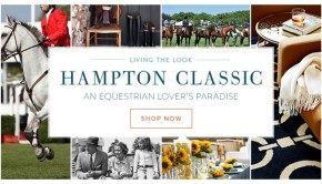 Equestrian Chic Sale Hampton's Classic Horse Decor and Gifts
