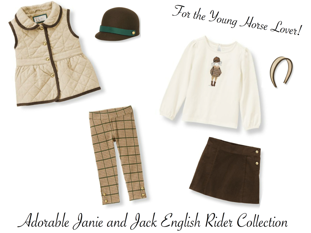 Janie and Jack English Rider Collection for the Young Horse Lover, Janie and Jack Classic Girls Horse Lover Clothes