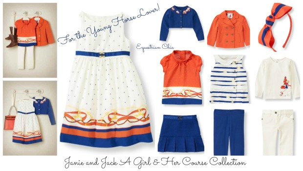 janie and jack girls classic Horse clothes