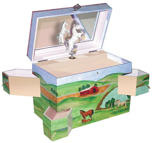 Enchantments Hideaway Horse Music Box