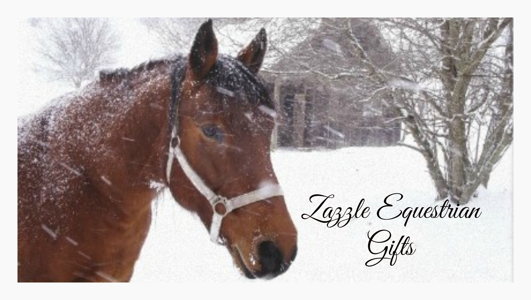 Zazzle equestrian gifts, horse holiday gifts
