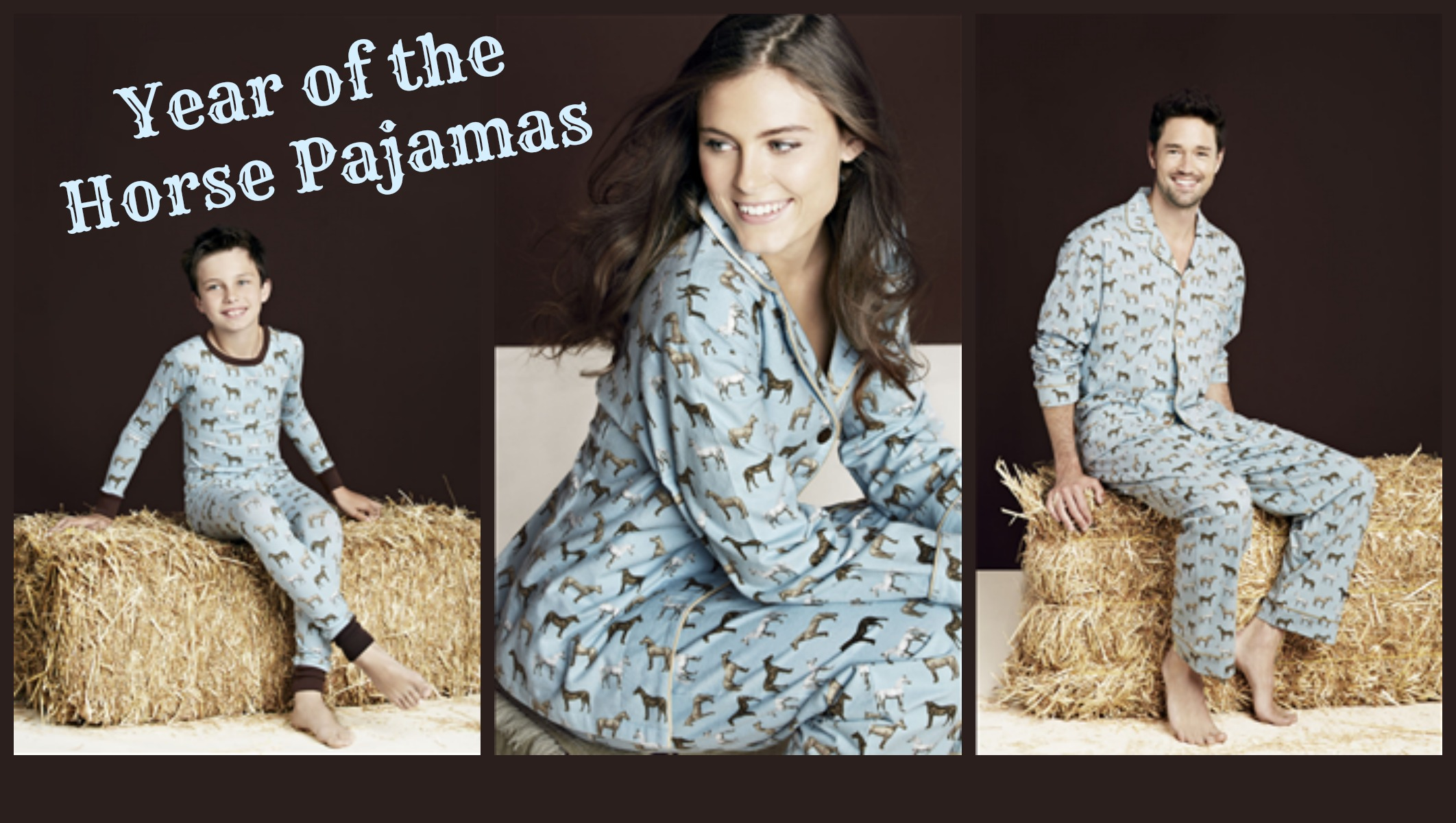 Year of the Horse Pajamas