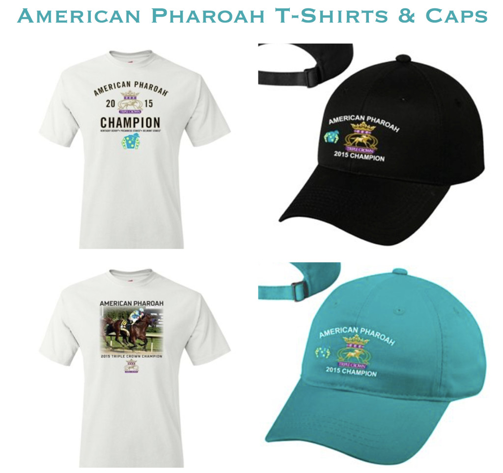 American Pharoah T-Shirts and Caps