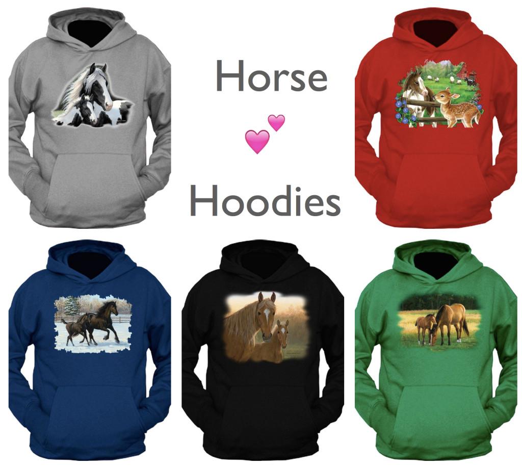 Horse Hoodies