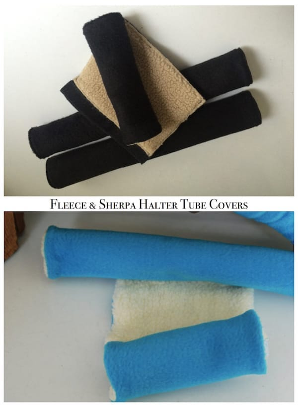 Fleece and Sherpa Halter Tube Covers