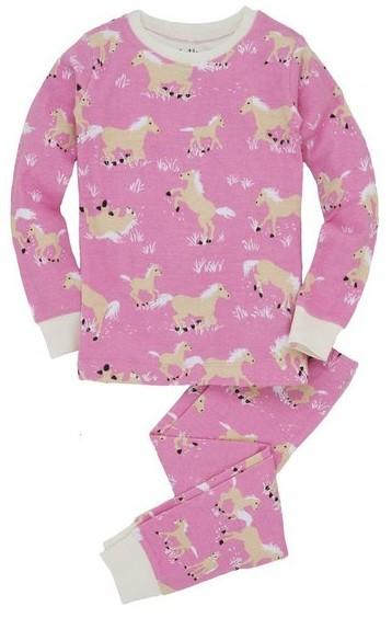 Hatley Kids PJ Set - Horse Play, girls horse pajamas