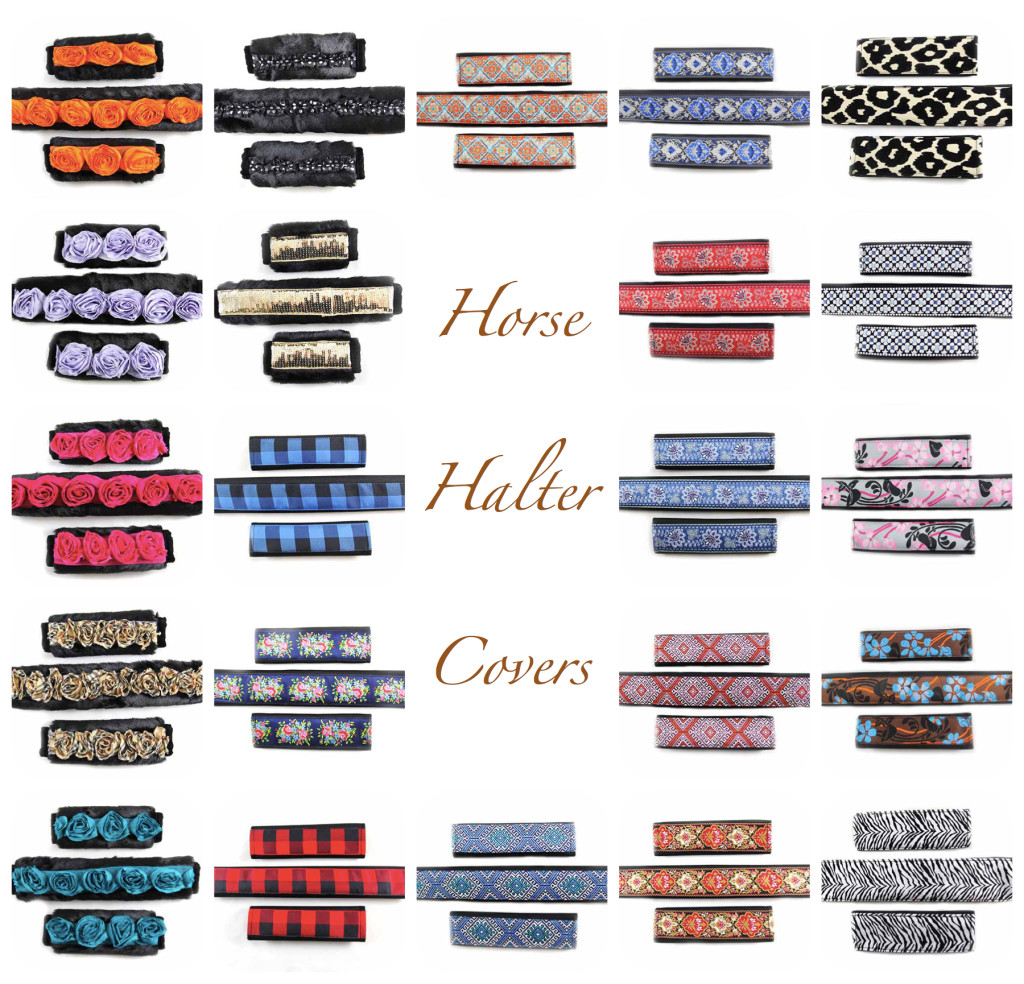Horse Halter Covers
