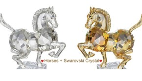 Horse and Swarovski Crystal