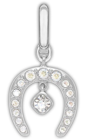 Swarovski Crystal Horseshoe Charm