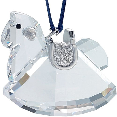 Swarovski Crystal Rocking Horse Ornament