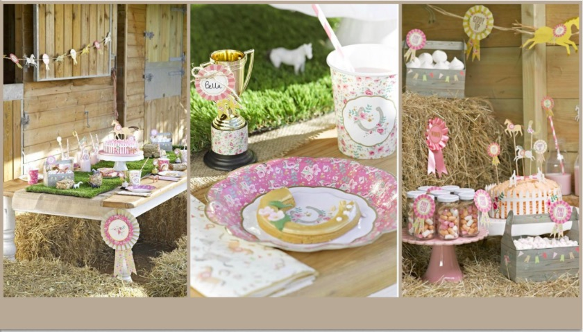 Playfully Elegant Pony Party Supplies
